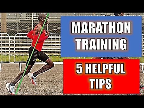 MARATHON TRAINING 5 HELPFUL TIPS