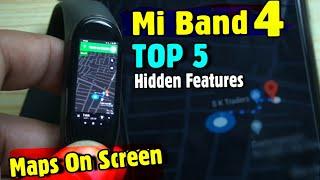 Mi Band 4 : Top 5 Hidden Features