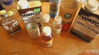 видео Клеи, лаки, пропитки и антисептики