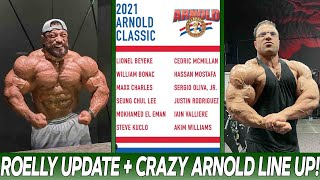 Roelly Winklaar Update! Competing SOON! + Crazy Arnold Classic Line Up! + Hassan Mostafa 10 Days Out
