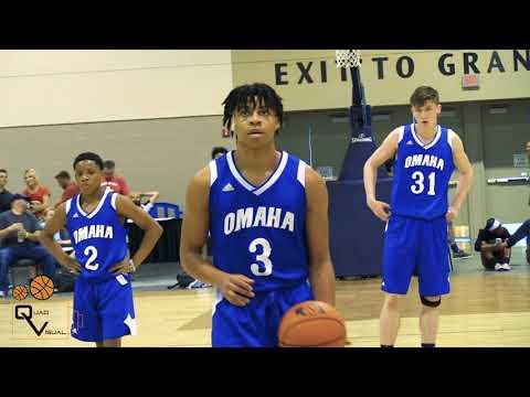 Omaha Elite Vs Team Factory Midwest Basketball Showcase 17U Championship