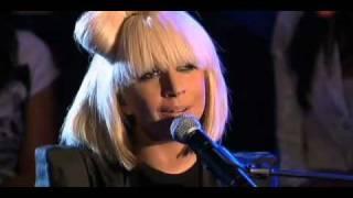 Lady Gaga - Poker Face (Acoustic) Mooi Weer De Leeuw 04/26/2009