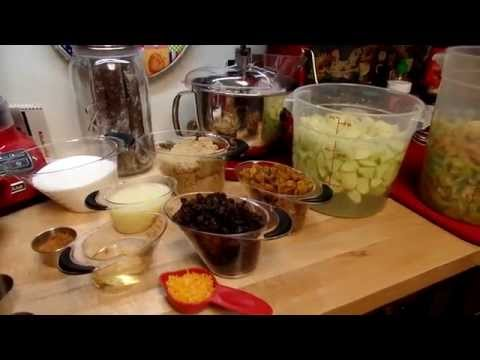 Home Canned Green Tomato Pie Filling