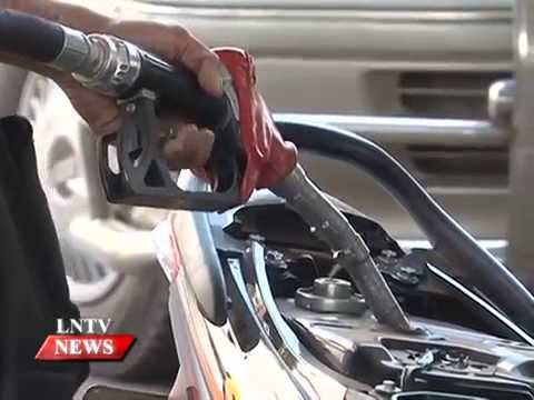 Lao NEWS on LNTV: MoIC announce the reductions in fuel retail prices nationwide.17/7/2015