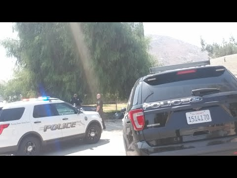 Fontana School Police Giving Derectives
