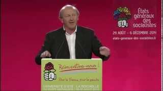 """Bennahmias aux UEPS 2014 sur """"l'unité de la gauche : pourquoi, comment?"""""""