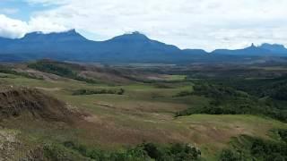 ベネズエラ ギアナ高地 テプイビュー/ Guiana Highlands, Tepuy panorama