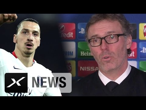 "Laurent Blanc: ""Zlatan Ibrahimovic hat grandiose Eigenschaften"" 