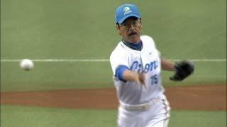 本日はサブマリン松沼博久vs.満塁男・駒田!! 2013.06.02 L-G thumbnail
