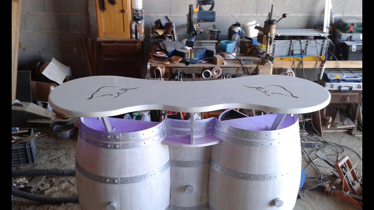 Transformer Un Tonneau En Bar tonneaux transformation