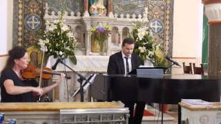 Wedding Procession Music - Butterfly Waltz - by Brian Crain - Violin and Piano
