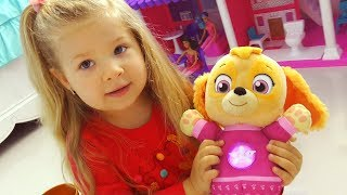 VLOG Мои ИГРУШКИ My Toys: Sky, Barbie doll house, Pikmi Pops surprise Video for kids and toddlers thumbnail