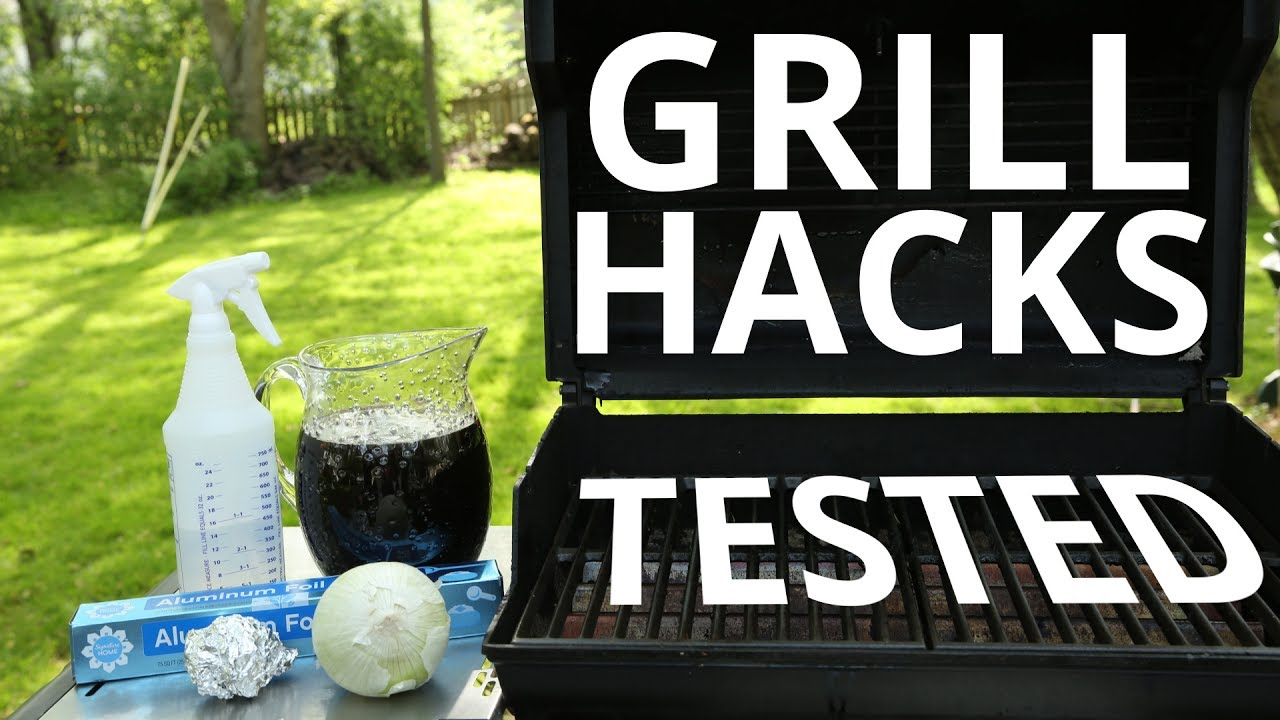 Sears Home Hacks 3 Grill Cleaning Hacks Tested Youtube