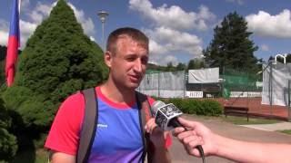 Pavel Nejedlý po výhře ve finále kvalifikace na turnaji Futures v Ústí n. O.