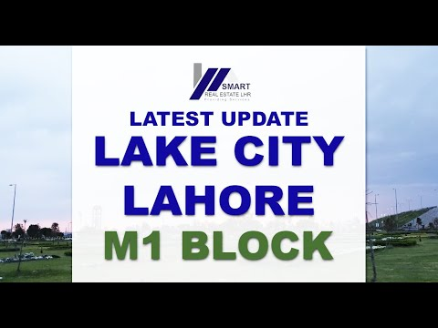 LAKE CITY LAHORE M1 BLOCK VISITED BY SMART REAL ESTATE 19-04-2019