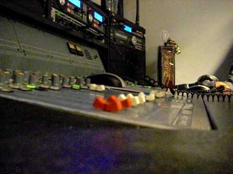 Dance Radio 992 Amsterdam studio opname 13-11-2009