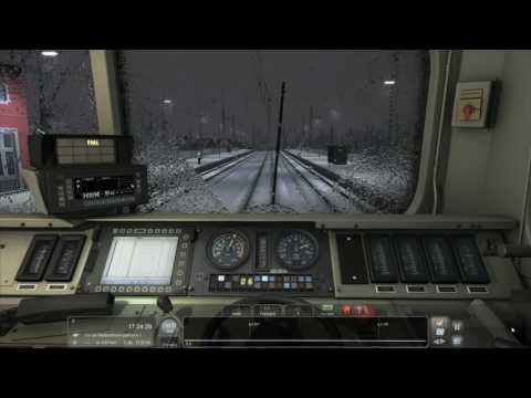 Train Simulator Köln-Koblenz A Bonn-Bad Day for Freight DB BR155 with PZB