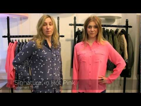 Stanwells Boutique TV - 'Equipment Shirts' Resort Collection With Julia Aitken