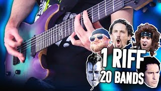 1 Riff 20 Bands - Mastodon! | Pete Cottrell