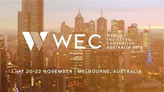 World Engineers Convention - Melbourne 2019