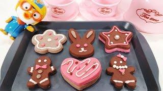 키즈쿡 쿠키요리 뽀로로 과자 장난감 만들기 놀이 KIDS COOK COOKIES COOKING MAKER Play Food Toys pororo