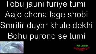 Evabe Chai Lyrics | Shawon Gaanwala | Apple Ahmmed | PJ Helen | Mizanur Rahman Aryan