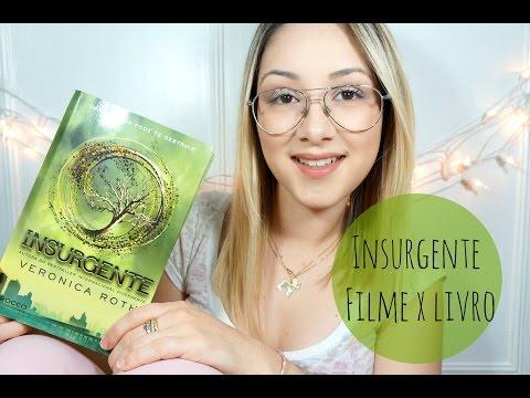 Insurgente Filme x Livro