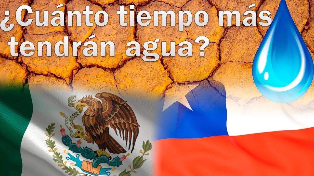 Países que se podrían quedar sin agua (América Latina)