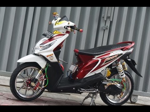 Motor Trend Modifikasi | Video Modifikasi Motor Honda Beat Velg Racing Simple Terbaru