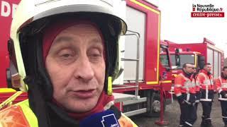 VIDÉO. Châtellerault. Incendie Hokiss : le point des pompiers