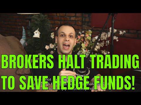Brokers MANIPULATING MARKET to save hedge fund billionaires & punish retail traders @ wallstreetbets