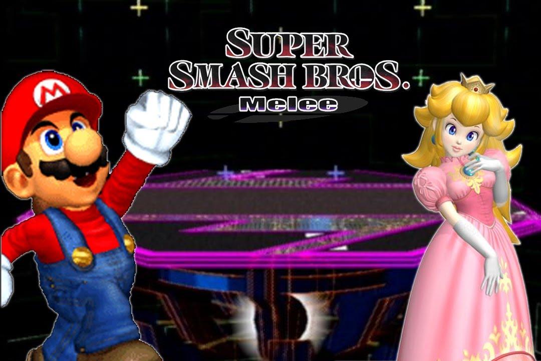 Super Smash Bros Melee Mario Vs Peach YouTube