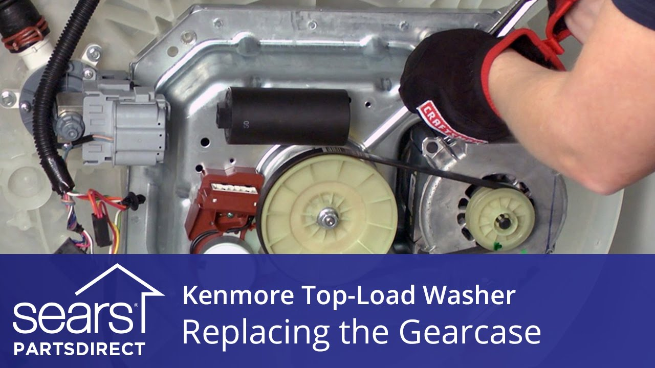 How To Replace The Gearcase On A Kenmore Vertical Modular Washer Bicycle Diagram Parts List For Model 130473310 Searsparts Vmw