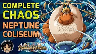 Walkthrough for All Neptune Coliseum Stages! (Free To Play) [One Piece Treasure Cruise]
