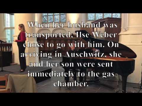 Theresienstadt Lieder, Ilse Weber,