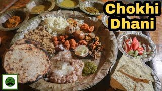 Famous Chokhi Dhani Thali in Jaipur || Best Indian Food