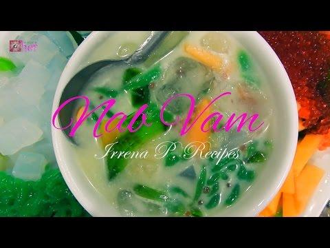 Hmong Food: NAB VAM/ 3 colors