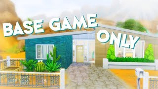 BASE GAME FAMILY HOME ☆ The Sims 4 Speed Build