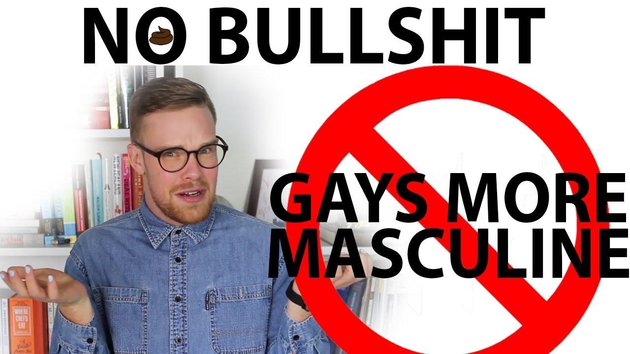 No bullshit no gay