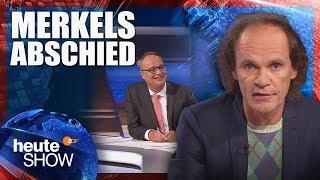 Olaf Schubert: Was bleibt von der Ära Merkel? | heute-show vom 02.11.2018