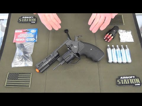 Colt Python .357 Magnum Co2 Airsoft Revolver Product Overview