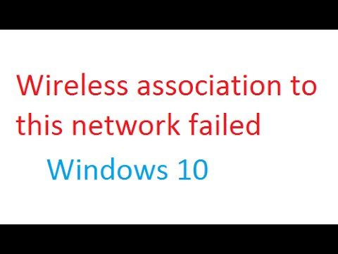 RNWF MSM Helper Class issue: Wireless association to this network failed