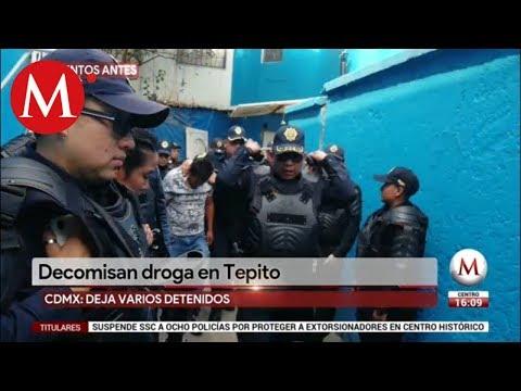 ÚLTIMA HORA: Decomisan droga en Tepito