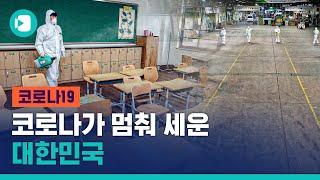 국회 폐쇄되고, 개학 연기되고…코로나가 멈춰 세운 대한민국 / 비디오머그