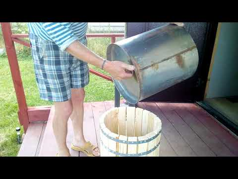Пресс для сока своими руками. Соковыжималка для яблок.