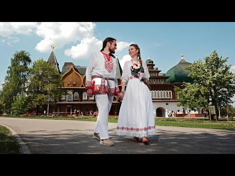 Народная свадьба в Коломенском и в Славянском кремле Сундакова