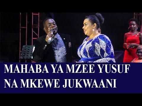 Download ''LIVE'' MAHABA MAZITO YA MZEE YUSUF NA MKEWE MBELE YA MASHABIKI ''SIOWI TENA MKE MWINGINE''