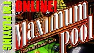 I'm Playing: Maximum Pool Online! (Dreamcast)