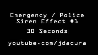 Police Siren Sound Effects Ambulance Alarm Siren #1