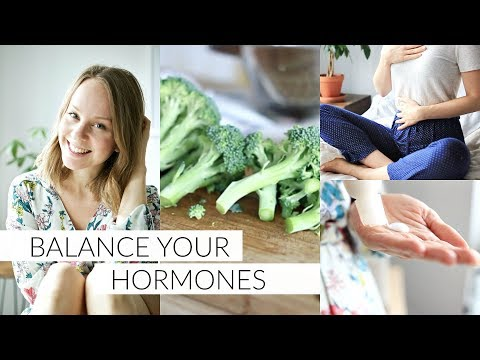 BALANCE YOUR HORMONES | 7 tips to balance hormones naturally
